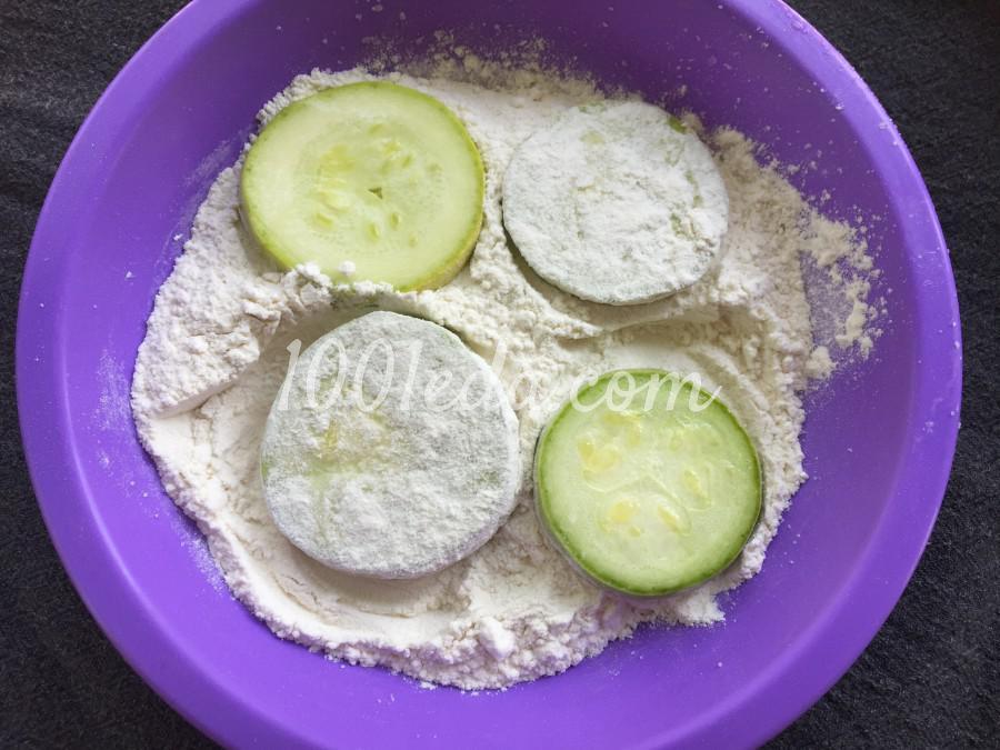 Закуска из кабачков: пошаговый с фото - Шаг №3