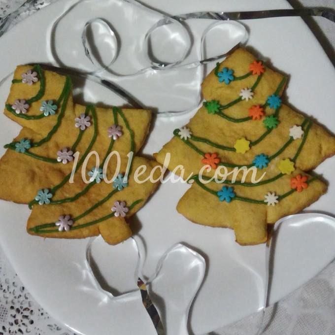 Печенье Новогодние елки