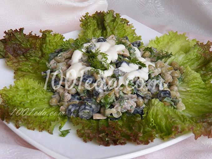 Новогодний салат Для неожиданных гостей