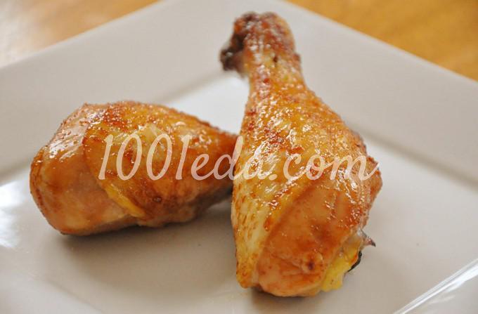 Куриные ножки с медом и чесноком