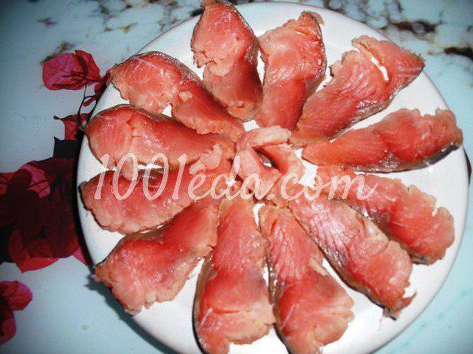 Горбуша в лимонном соке для постного и праздничного стола