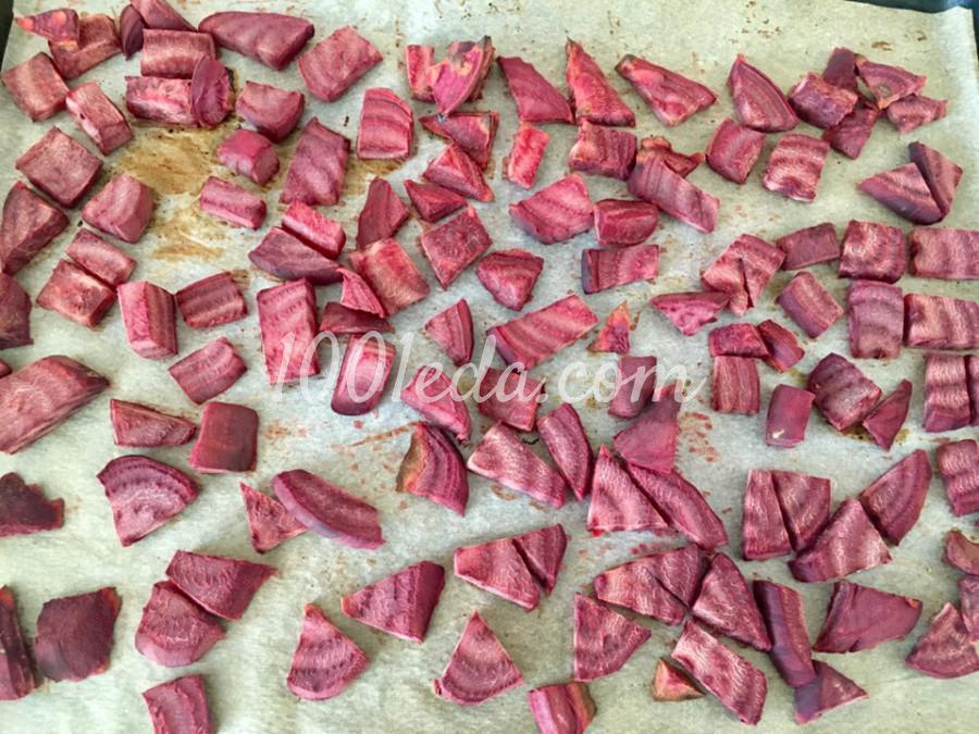 Запеченная свекла с орегано и чесноком: пошаговое фото - Шаг №2