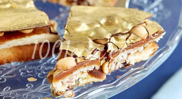 Торт Королева Элизабет с карамелью и арахисом от Кирилла Лигнаса