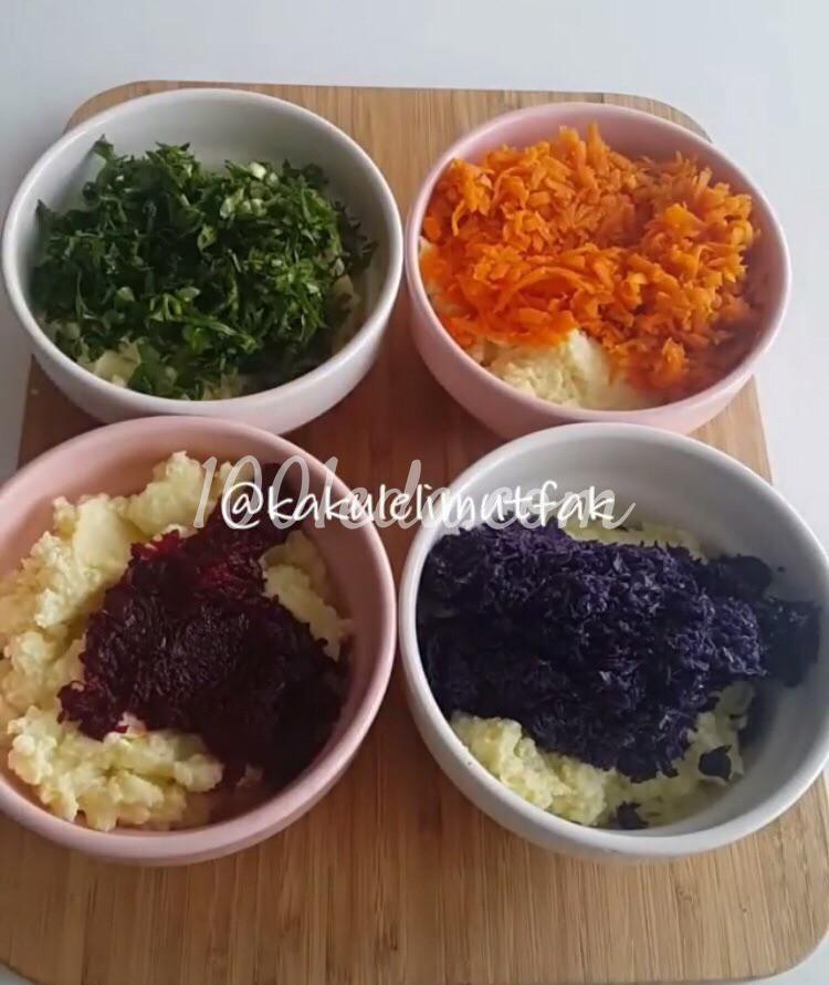 Яркий картофельный салат: пошаговый с фото - Шаг №3