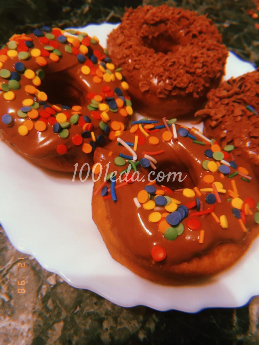 """Пончики """"Нежность"""" на молоке: пошаговое фото"""