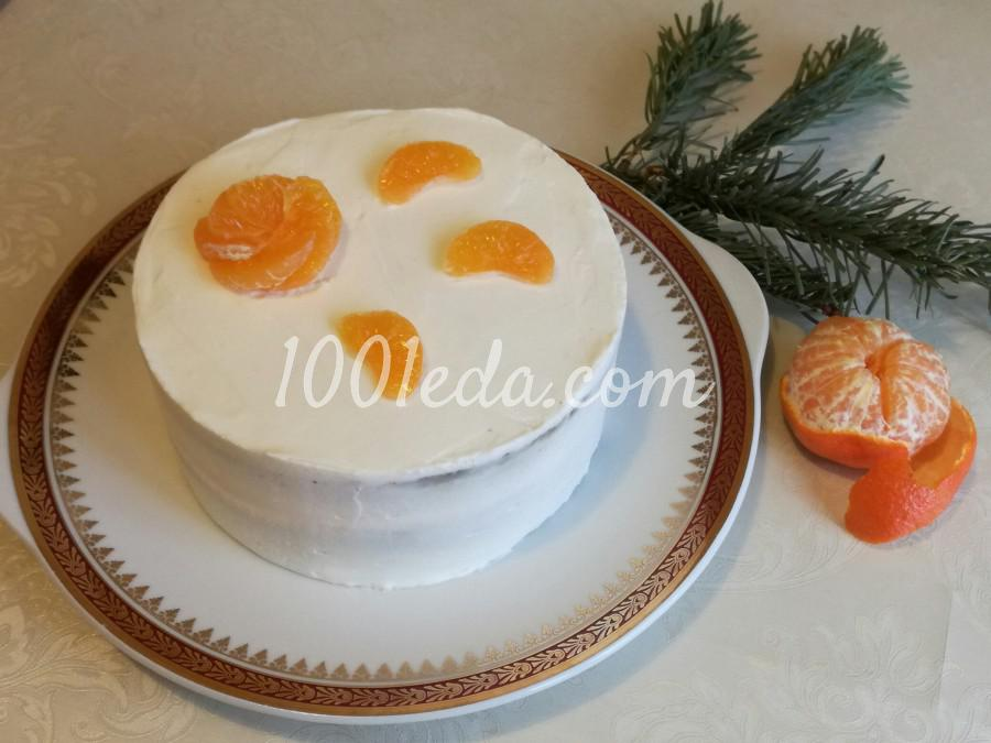 Торт с крем-чиз: пошаговый с фото