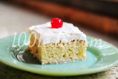 "Торт ""Три молока"": пошаговый с фото"