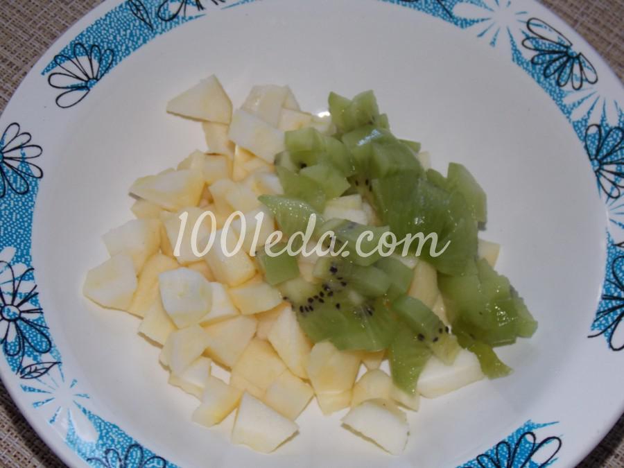 Десерт с йогуртом и фруктами: пошаговый с фото - Шаг №2