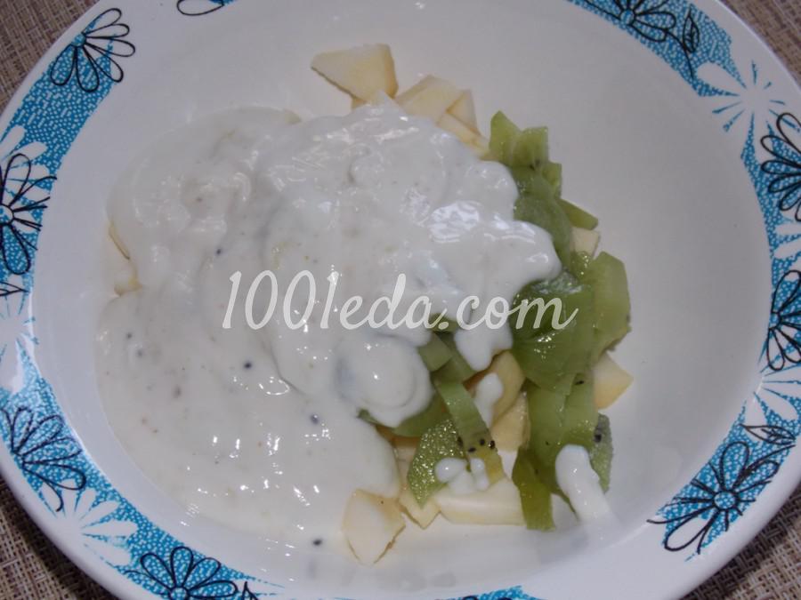 Десерт с йогуртом и фруктами: пошаговый с фото - Шаг №3