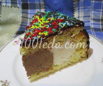 """Бисквитный торт-мороженое """"Магия"""""""