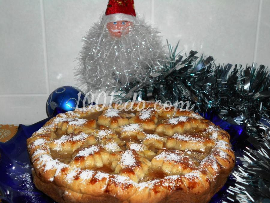 Новогодний пирог на сметане Ёлочки-сосёночки: пошаговый с фото