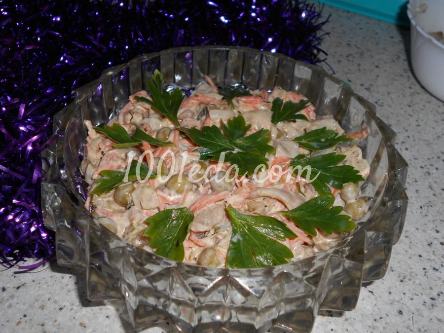 Салатик для Новогодних праздников: пошаговый с фото
