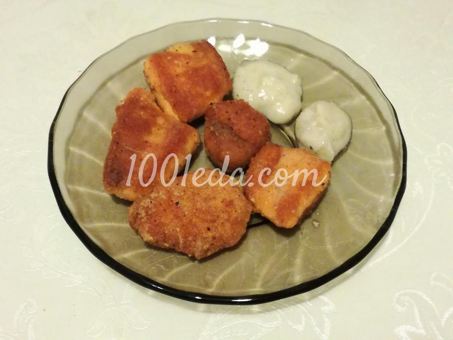 Икра камбалы с соусом: пошаговое фото