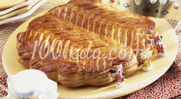 Королевский пирог с франжипаном