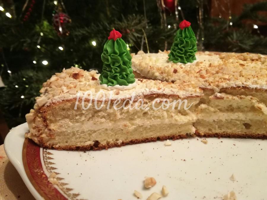 Торт Подарочный со сливочным кремом