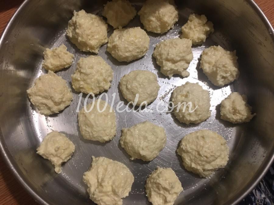 Пирог шоколадный с творожными шариками: пошаговое фото - Шаг №2