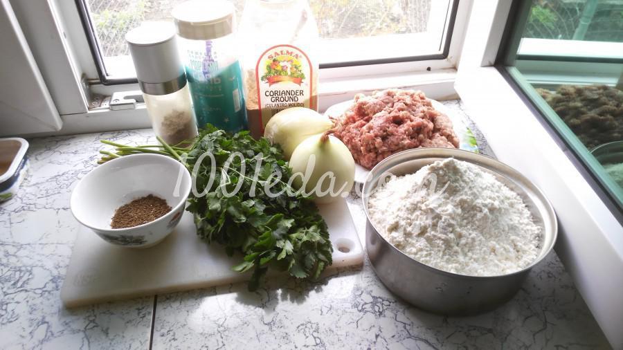 Классический рецепт приготовления хинкали: пошаговый с фото - Шаг №1
