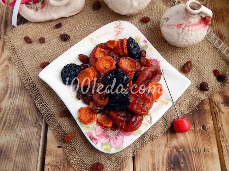 Национальное еврейское постное блюдо цимес: пошаговое фото