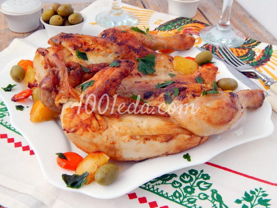 Цыпленок табака: пошаговое фото