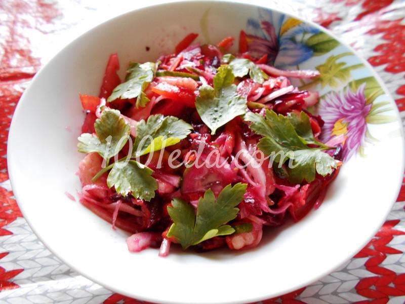 Полезнейший салат для поста и не только: пошаговый с фото