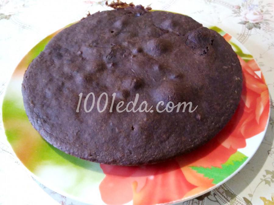 Шоколадный пирог без маргарина и яиц