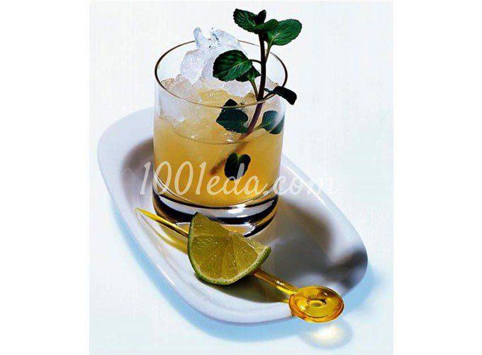 Лаймово-имбирный чай со льдом