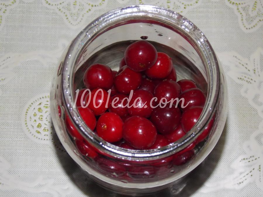 Компот из вишни с мелиссой на зиму: пошаговое фото - Шаг №2