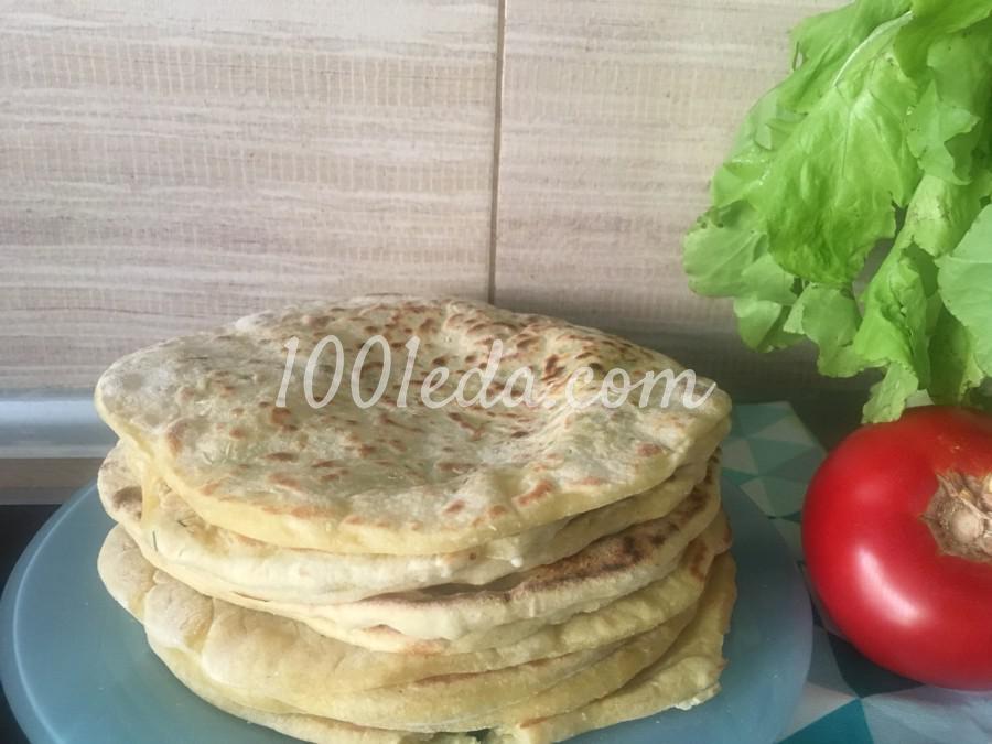 Сырные лепешки: пошаговый с фото