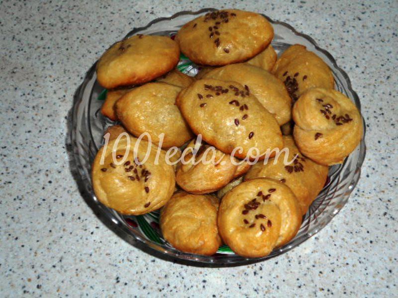 Вкусные сладкие пирожки в духовке: пошаговый с фото
