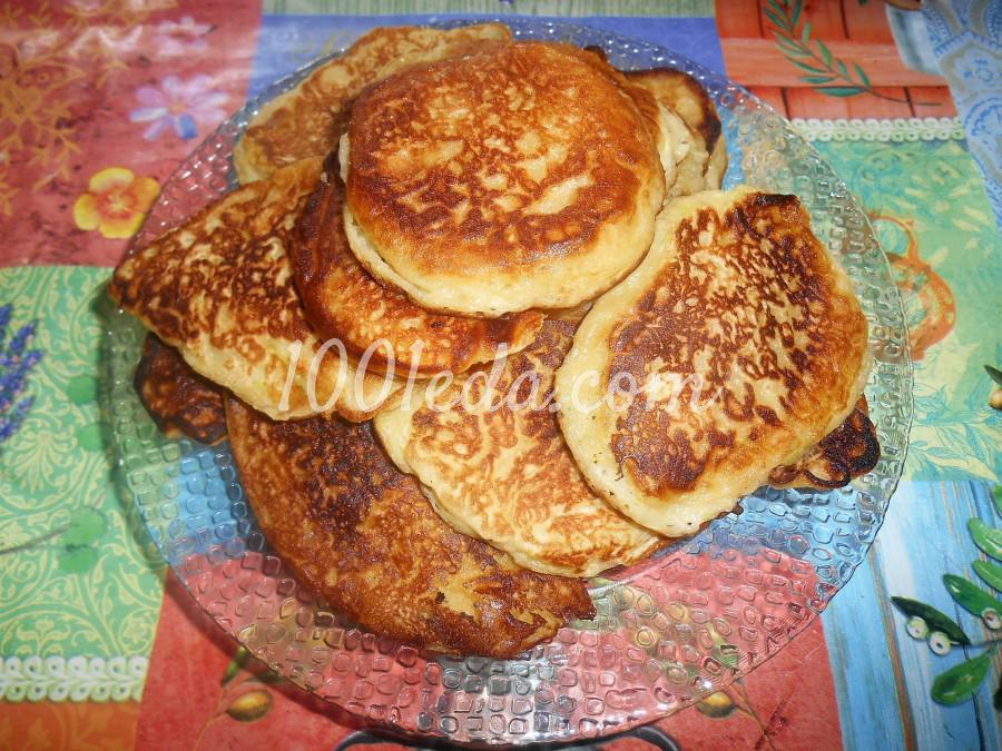 Сладкие оладьи из кабачков на кефире: пошаговое фото