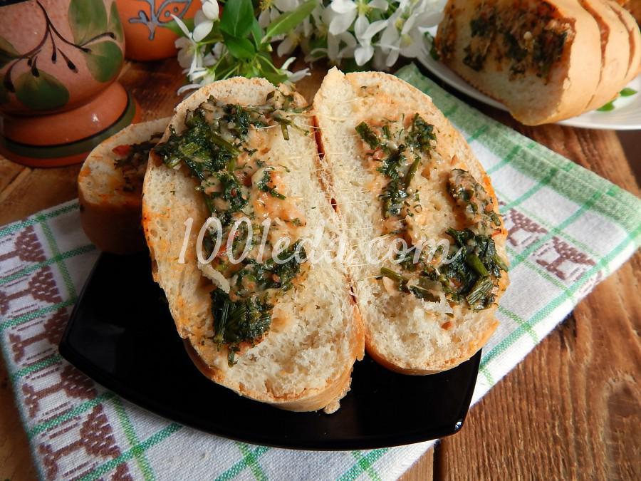 Быстрые бутерброды в духовке: пошаговое фото