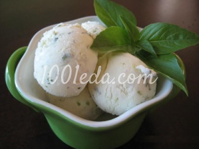 Мороженое с лаймом