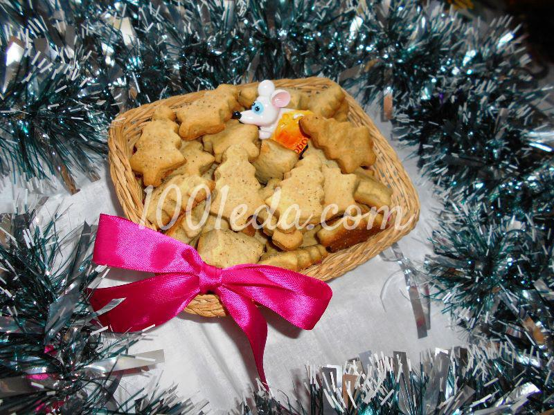 """Новогоднее соленое печенье """"Для старшеньких"""": пошаговое фото"""
