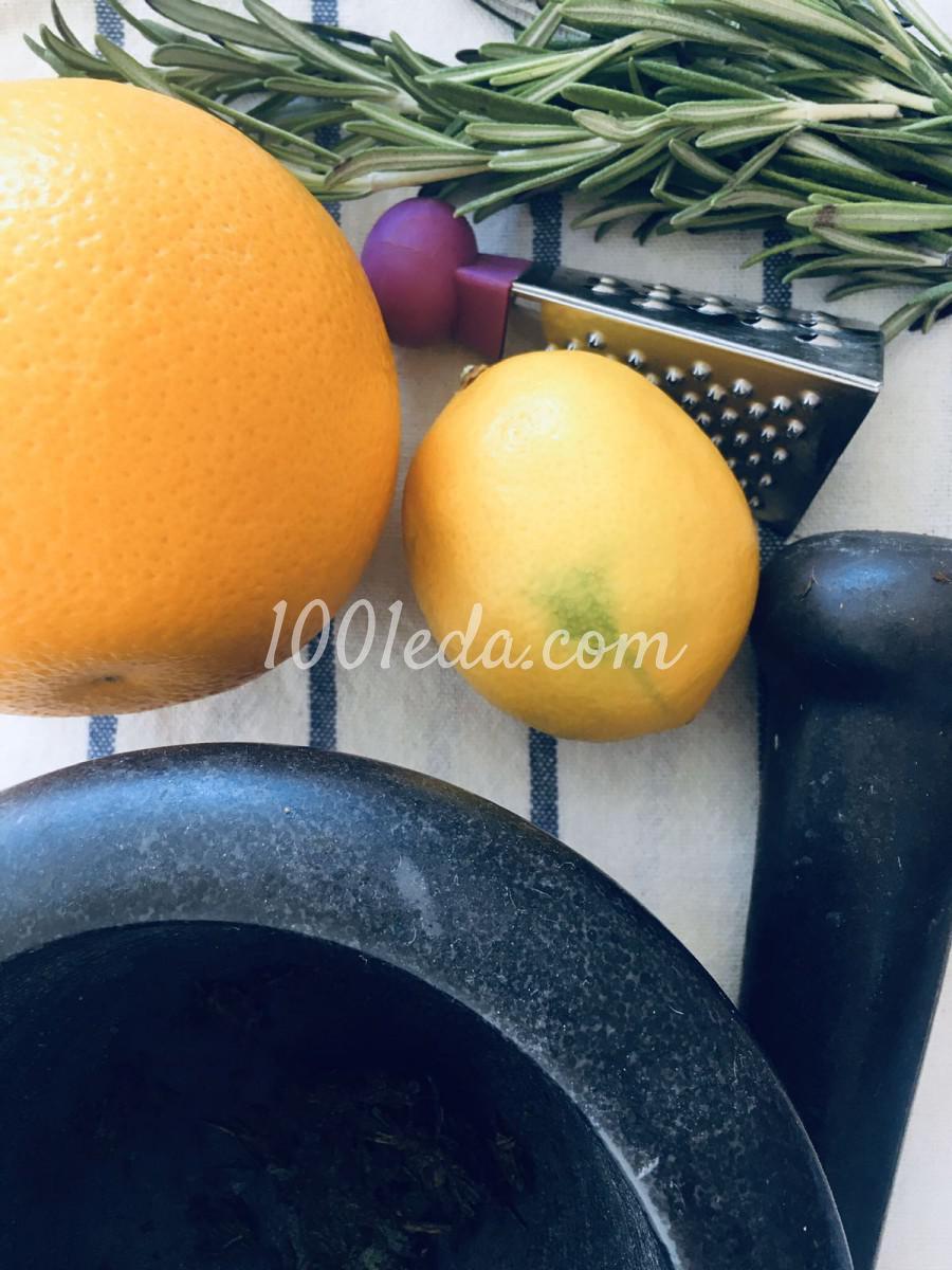 Розмариново-апельсиновая соль: пошаговое фото