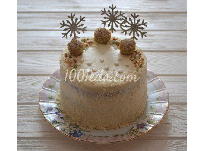 Вкусный пряный домашний торт «Зимнее яблоко»