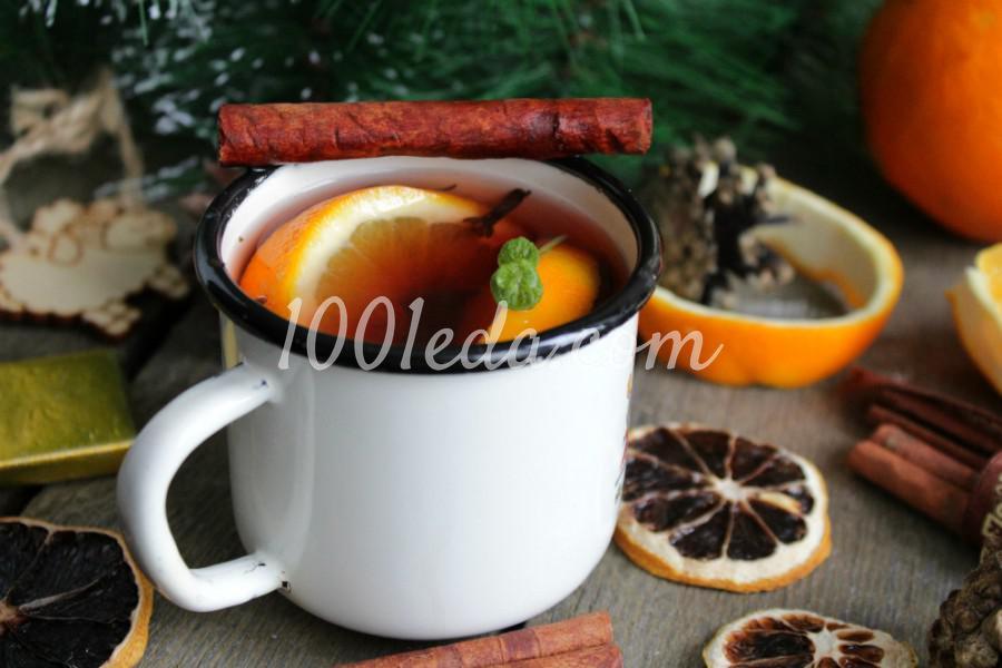Глинтвейн с апельсином: пошаговое фото