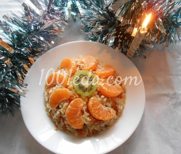 Современное сочиво с рисом и курагой: пошаговое фото