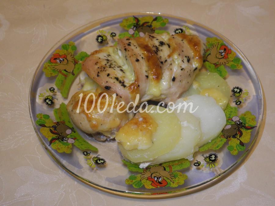 Куриное филе с картофелем в духовке: пошаговое фото