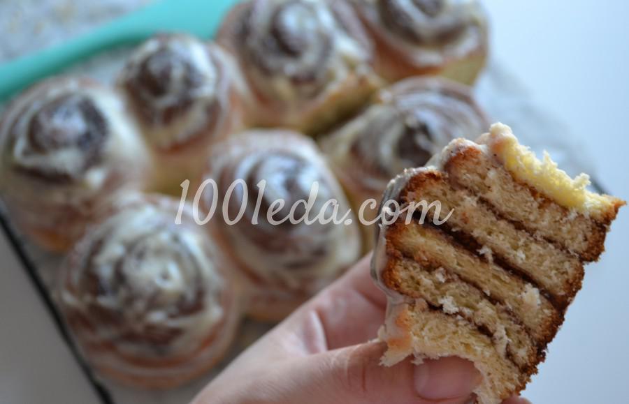 Невероятно вкусные булочки с корицей