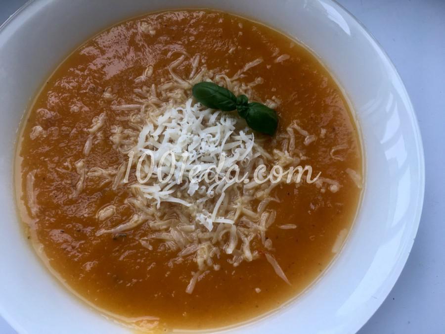 Суп-пюре из тыквы (постный): пошаговый с фото