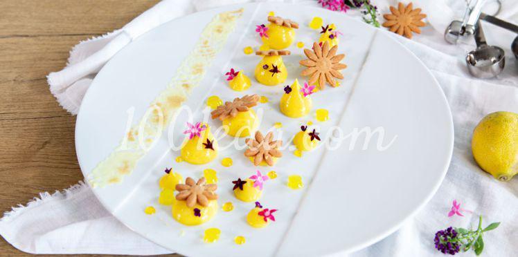 Лимонный десерт с безе от Ноэми Ониат