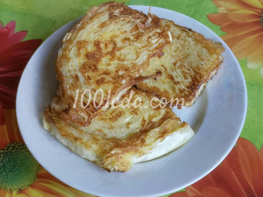 Капуста в яйце: пошаговый с фото