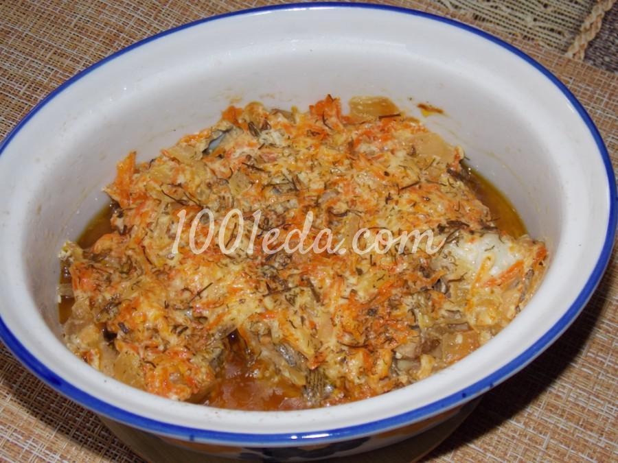 Рыба с овощами, томленая в духовке: пошаговое фото