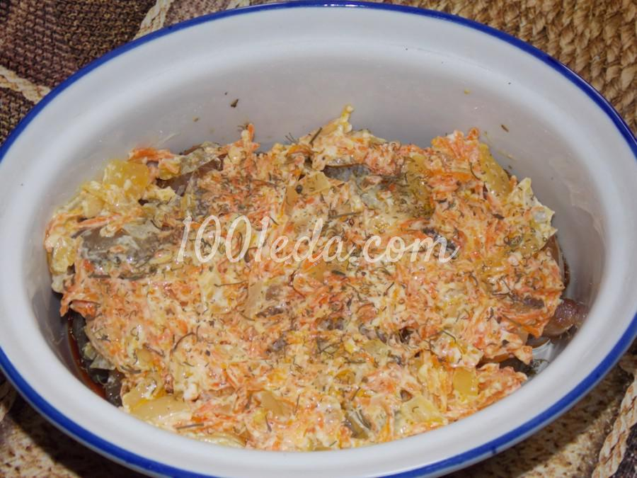Рыба с овощами, томленая в духовке: пошаговое фото - Шаг №5
