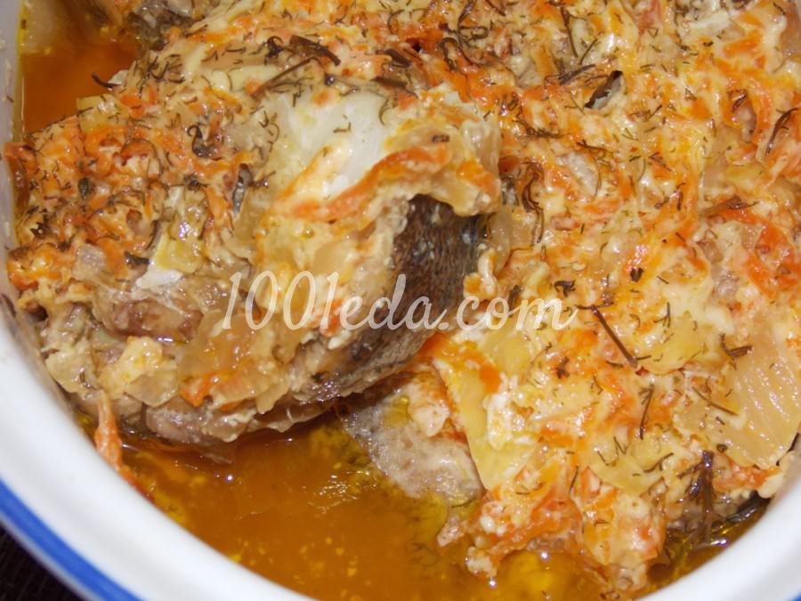 Рыба с овощами, томленая в духовке: пошаговое фото - Шаг №6
