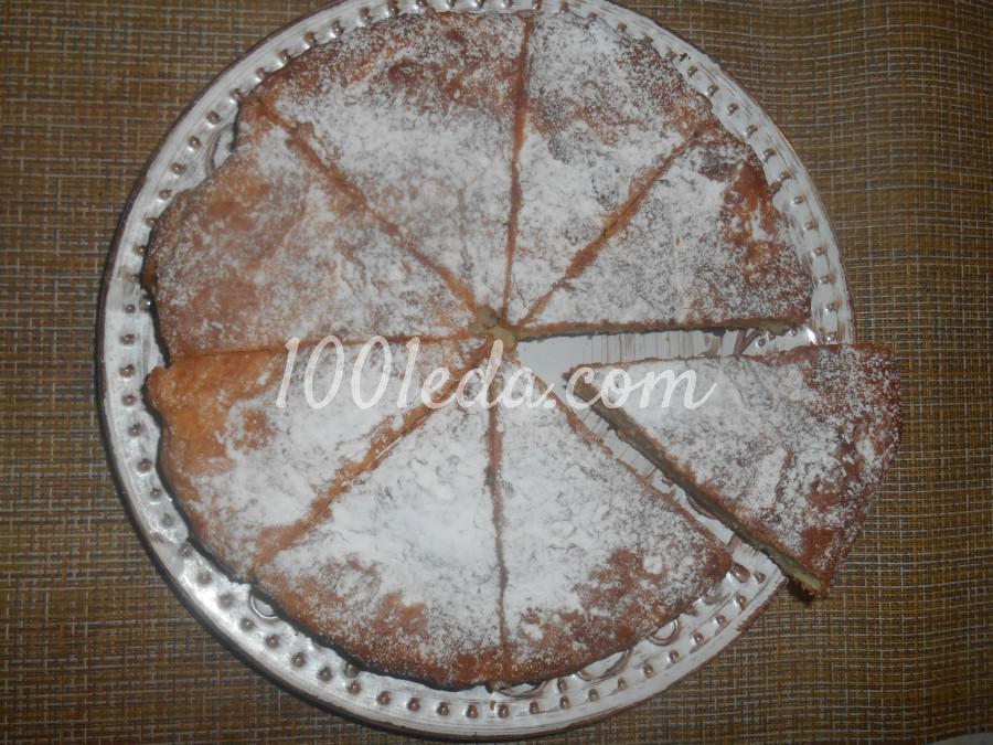 Нежнейший творожный пирог на скорую руку.