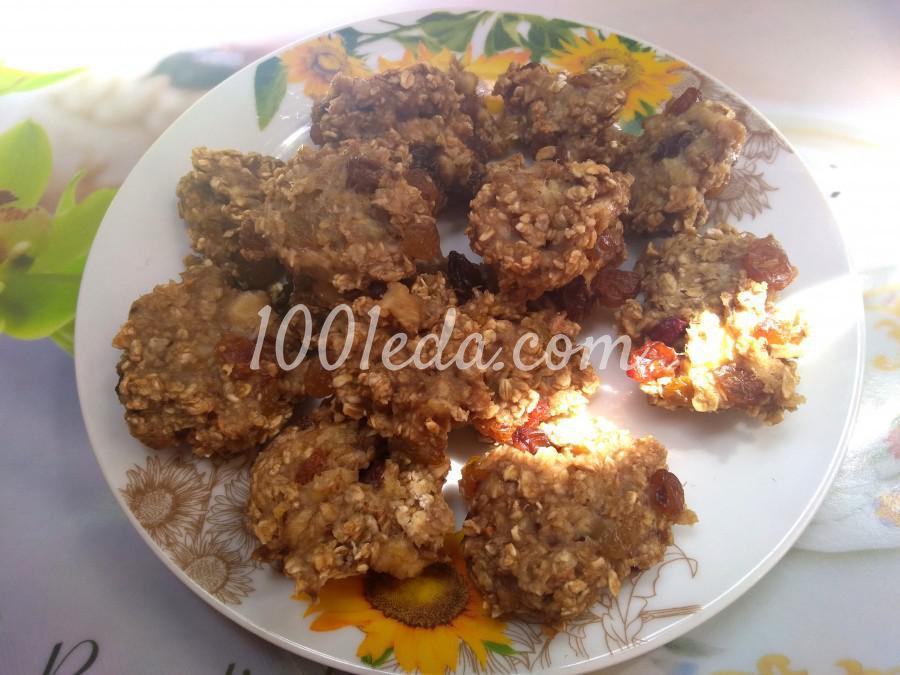 Печенье ПП с овсянкой: пошаговое фото