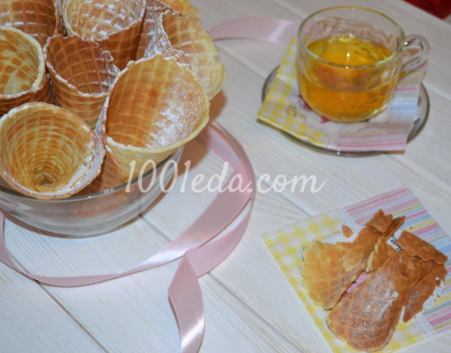 Самые вкусные, хрустящие вафли из детства: пошаговое фото