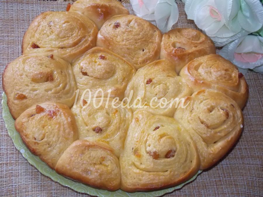 Булочки с изюмом в хлебопечке: пошаговое фото