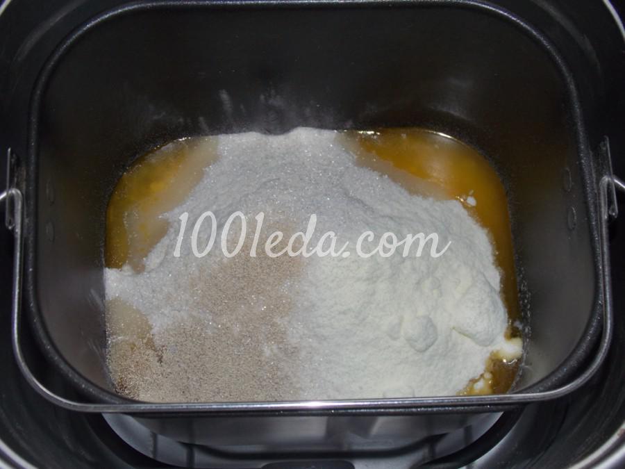 Булочки с изюмом в хлебопечке: пошаговое фото - Шаг №1